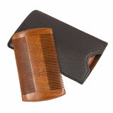 Pocket Sandalwood Anti-static Comb, Combs / Brushes / Trimmers, THEFINEBEARD, THEFINEBEARD