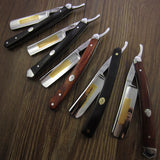 Wood | Straight Razor | Steel blade