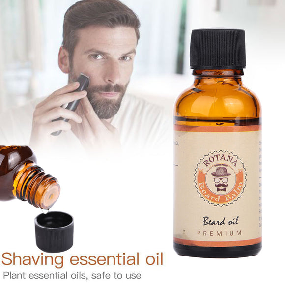 Men Shaving Essence | Beard Oil | Mustache Care | Natural Skin Conditioner