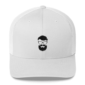 Trucker Cap - Glasses Beard model, Cap, THEFINEBEARD, THEFINEBEARD