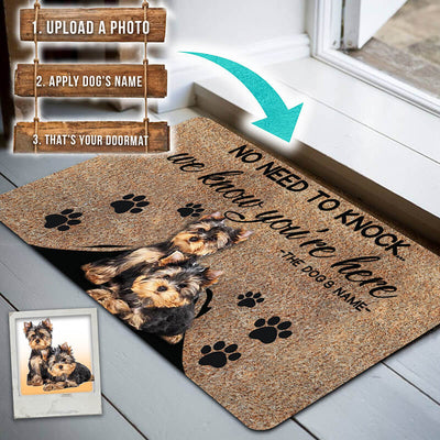 Personalized Doormat We Know You Are There Limited