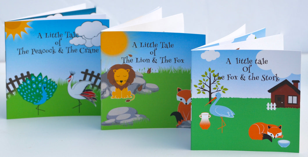 Little Tales Booklets  from The Aesop's Fables Collection®