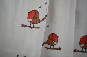 New! Cute winter Robin Bamboo Swaddle Blanket 120cm x 120cm