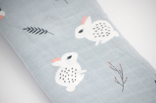 Beautiful Soft Grey 'Cony' Bamboo Swaddle