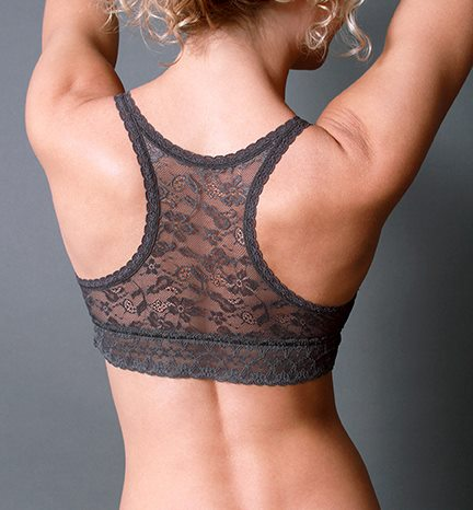 Racerback Lace Charcoal Preview