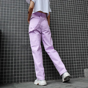 Grape Straight Pants