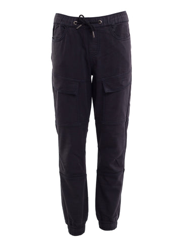 Oxford Cargo Pant- Navy
