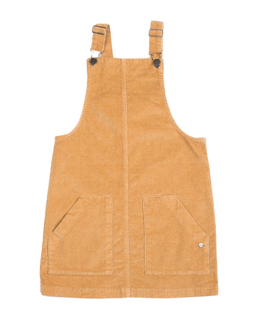 Eve cara cord Pinafore- honey