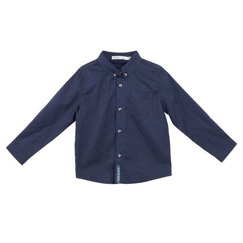 Jackson Formal L/S Shirt-Navy