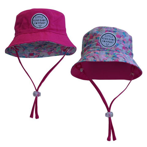 Sugar Mountains Reversible Bucket Hat