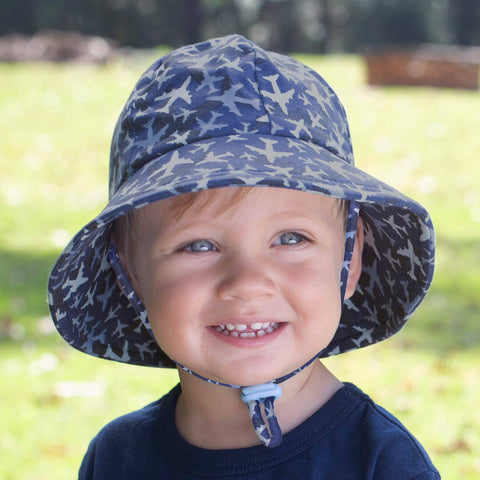 Boys Toddler Bucket Hat Planes Print
