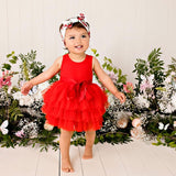 MY FIRST TUTU S/S - RED