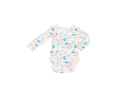 Bella Floral Long Sleeve Bodysuit