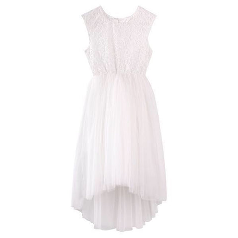 Delilah Lace Dress- Ivory