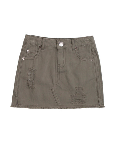 Fully Skirt- khaki