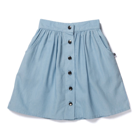 Blaire Skirt- Chambray