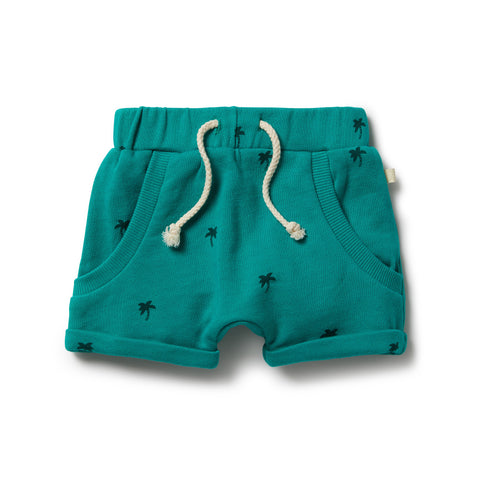 Little Palm French Terry Slouch Shorts