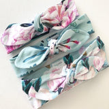 Tropical Breeze Print Top Knot Headband