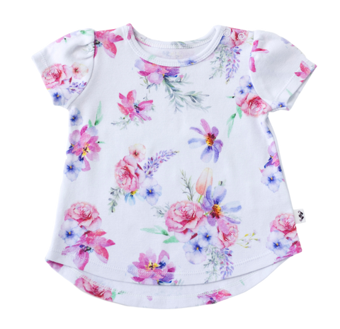 Ava Floral S/S Tee
