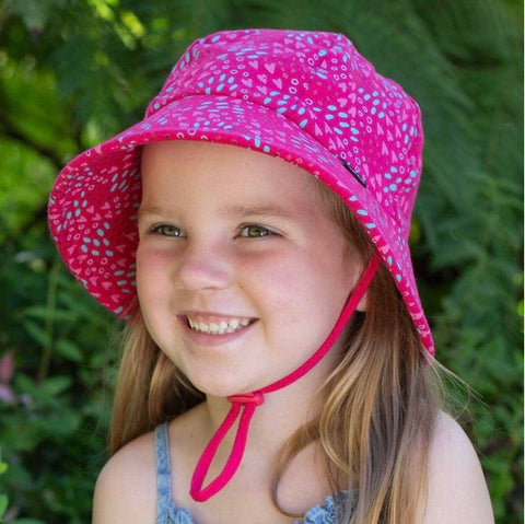 Girls Bucket Hat Amore Print