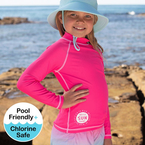 Girls Rash Vest UPF50+ Candy