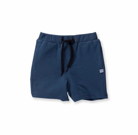 Boys Standard Sweat Short-Navy
