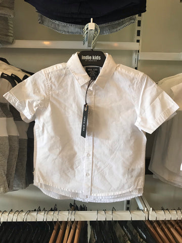 Richard SS Shirt-white