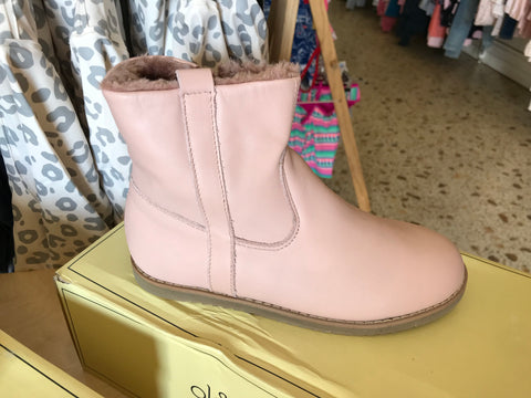 Lounge Boot Powder Pink/ Dusty Pink