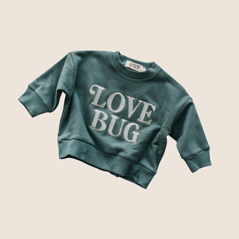 Love Bug Jumper- Forest