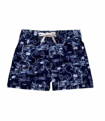 Nautical board shorts