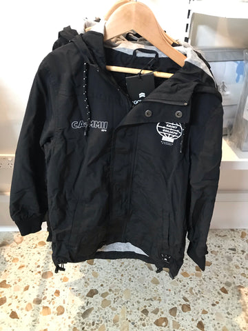 Matty Hooded Jacket-Black