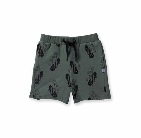 Boys Weee Sweat Short-moss