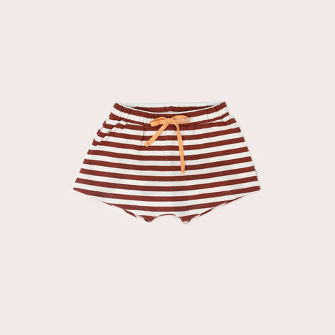 Sands Shorties- Rust Stripe