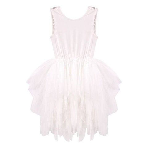 Melody Tulle Dress- ivory