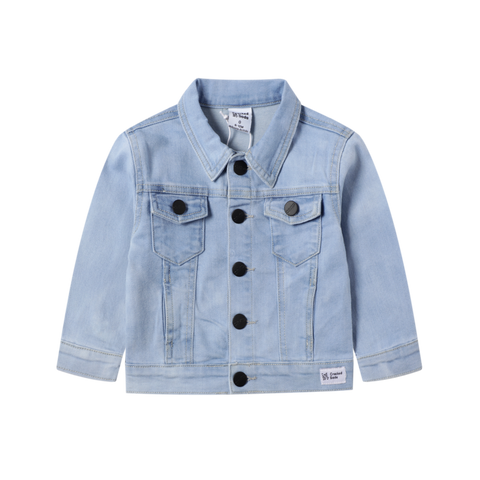 Remi Casual Denim Jacket- Blue