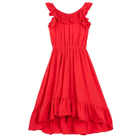 Anya Swing Dress- Red