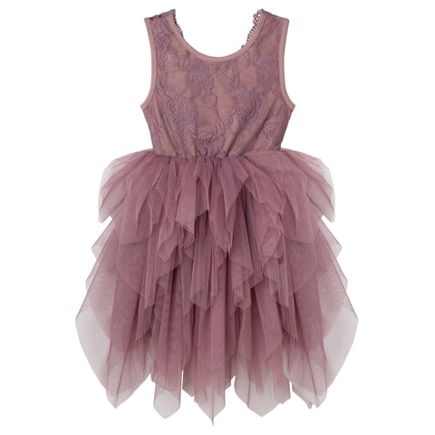 Sophie Lace Bodice Tutu Dress- Truffle