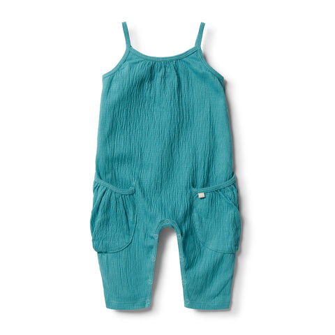 Calypso Crinkle Slouch Jumpsuit