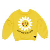 Bloom Sweatshirt- Mustard