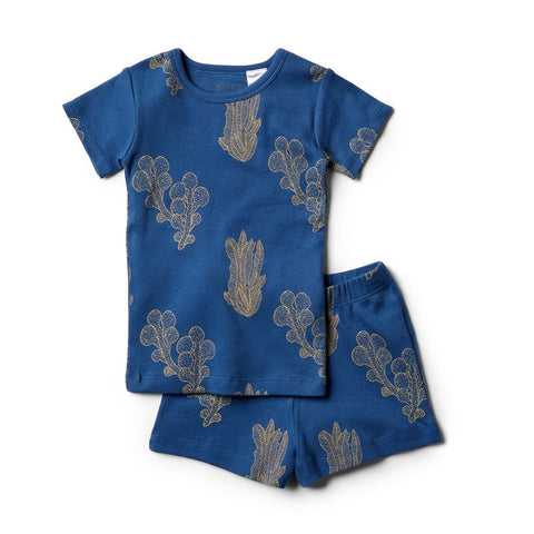 Organic Atlantic Short Sleeve Pyjama Set