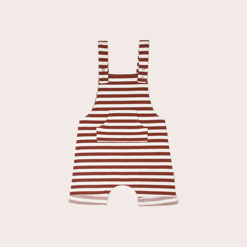 Sands Overalls- Rust stripes