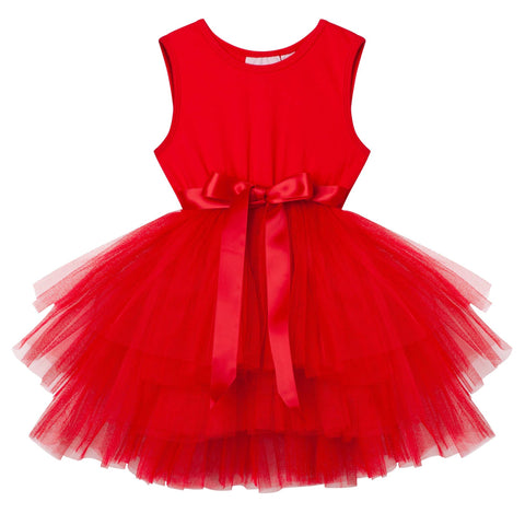 My First Tutu S/S- Red