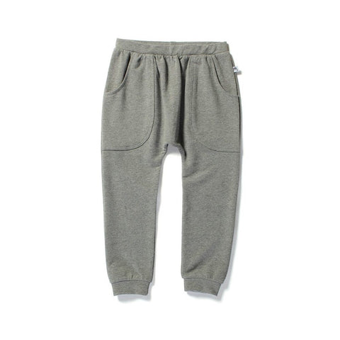 Littlehorn basic harem pant- Charcoal