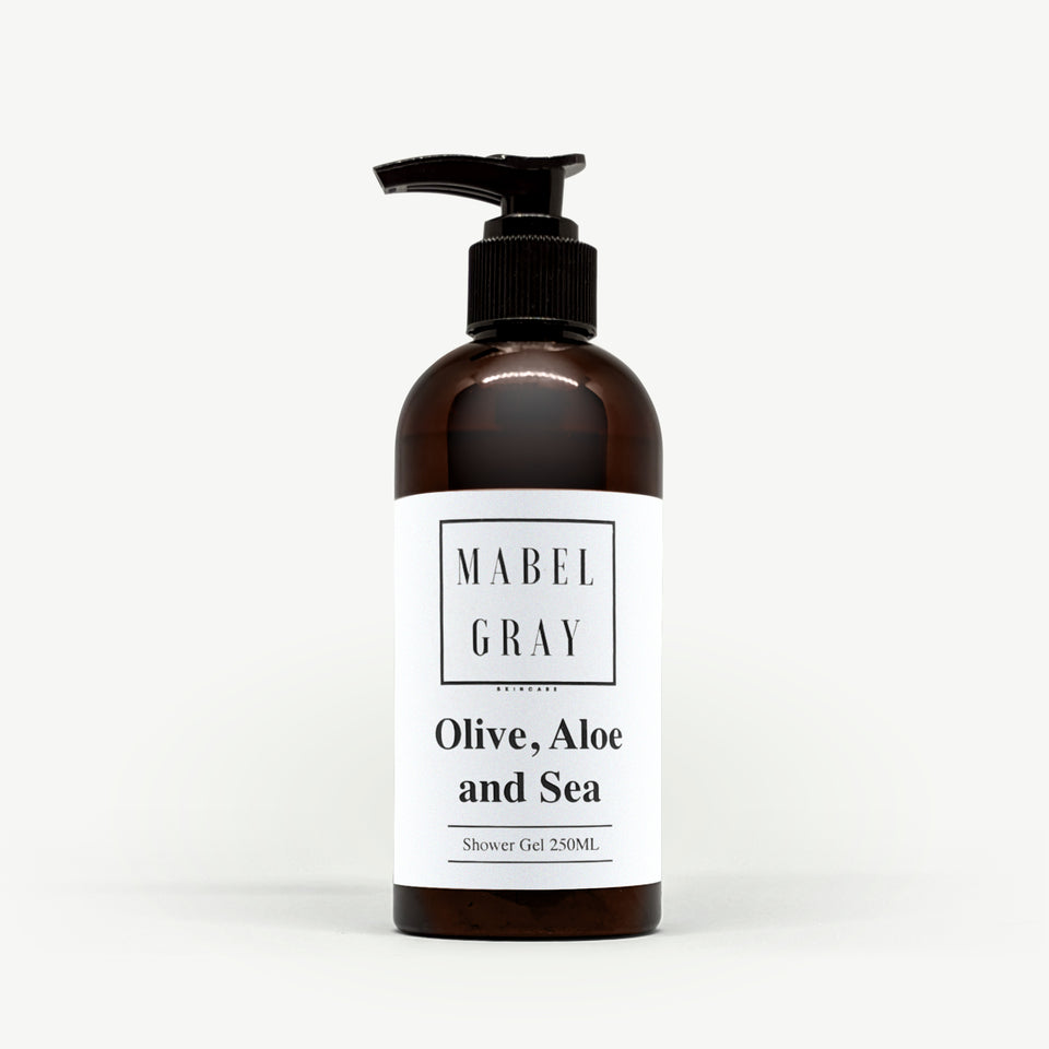 Olive Aloe & Sea. NATURAL SHOWER GEL 250ML