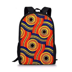 African-Ethnic-Schoolbag-spiral orange