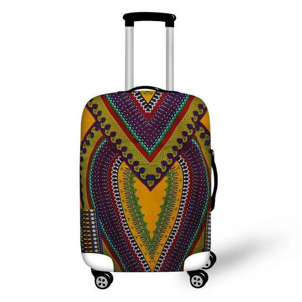 African Traditional print - Luggage Protector Covers