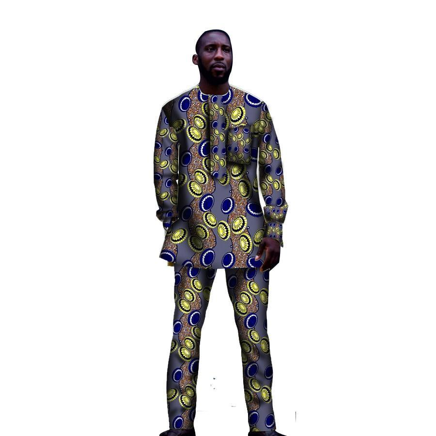 African Clothes Sets- Online at African Men Clothes