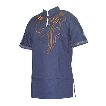African Men's Hippie Vintage - African Man Attire- Online at African Men Clothes