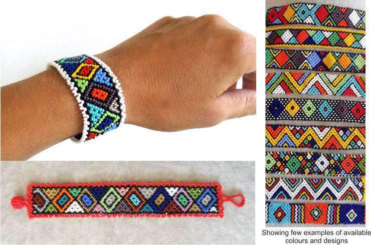 Flat Bracelet Ethnic - Item Code: 9- Online at African Men Clothes
