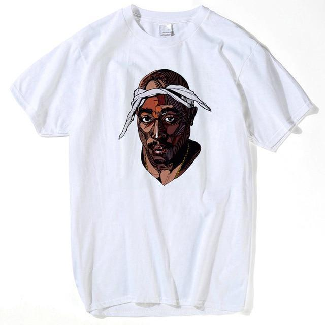 Popular African American Rapper T-shirt men - Black History- Online at African Men Clothes
